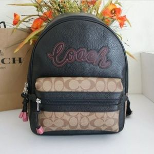 Coach Sporty Vale Charlie Signature Backpack Bag